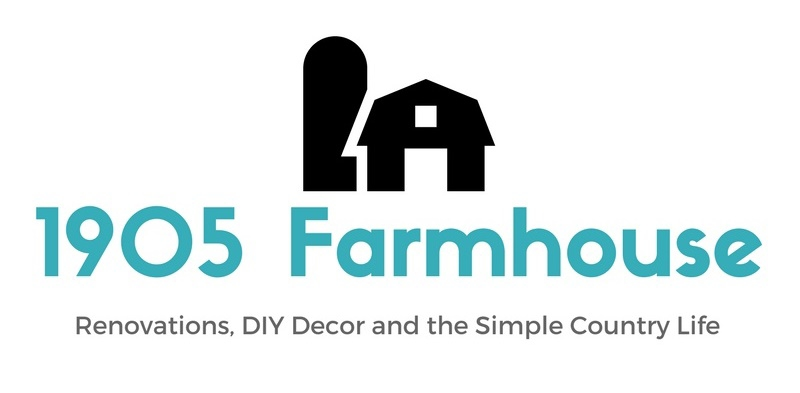 1905 Farmhouse - Renovations, DIY Decor and the Simple Country Life